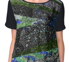 Outer Space Galaxy Chiffon Top