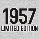 1957 LIMITED EDITION by mcdba