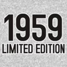 1959 LIMITED EDITION by mcdba