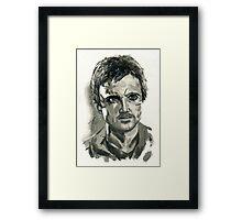 Jesse Pinkman from Breaking Bad  Framed Print