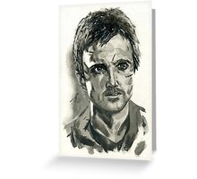 Jesse Pinkman from Breaking Bad  Greeting Card