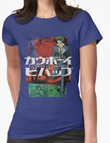 COWBOY BEBOP #09 Womens Fitted T-Shirt