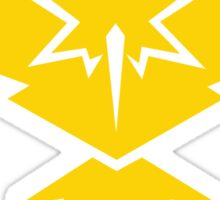 Pokemon Go Team Instinct Sticker