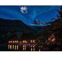 Lighting Up the Night Sky Photographic Print
