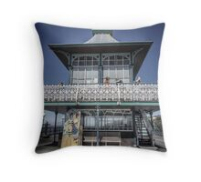 Seaside Chilling Throw Pillow
