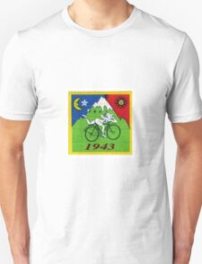 albert hoffman bike 1943 Acid lsd tabs Unisex T-Shirt