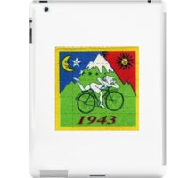 albert hoffman bike 1943 Acid lsd tabs iPad Case/Skin