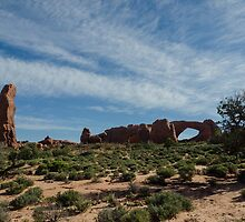North & South Windows Arches by don thomas