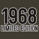 1968 LIMITED EDITION by mcdba