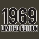 1969 LIMITED EDITION by mcdba