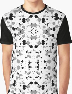 Marble Tears, White Graphic T-Shirt