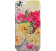 Garden delight iPhone Case/Skin