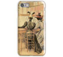 In the Cabinet des Estampes iPhone Case/Skin