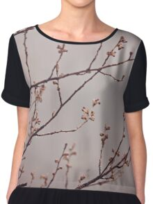 Before the Blossoms Chiffon Top