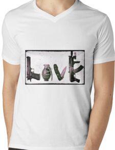 'LOVE' GUNS  Mens V-Neck T-Shirt