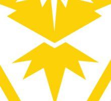 YELLOW team logo! Sticker