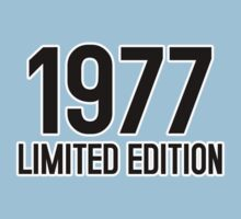 1977 LIMITED EDITION by mcdba