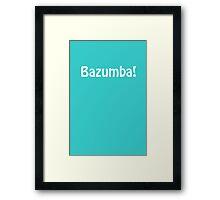 Bazumba - The Big Bang Theory  Framed Print