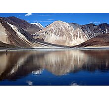 Pangong Blue water lake Photographic Print