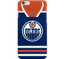 Edmonton Oilers Home Jersey iPhone Case/Skin
