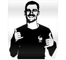 Griezmann's celebratrion Poster