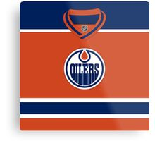 Edmonton Oilers Alternate Jersey Metal Print