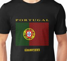 PORTUGAL, CHAMPIONS Unisex T-Shirt