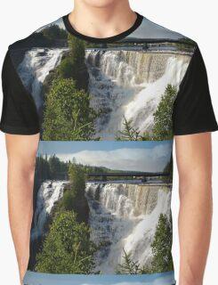 Kakabeka Falls Ontario Graphic T-Shirt