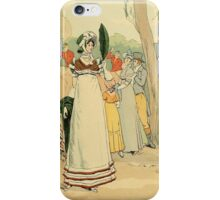 At the races on the Champ de Mars iPhone Case/Skin