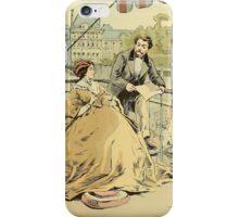 Balcony in Rue de Rivoli 1864 iPhone Case/Skin