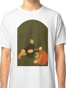 Da Vinci's Shape of Time Classic T-Shirt