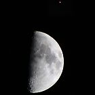 The Moon & Mars by Daniel Owens