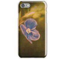 Germander Speedwell , Veronica chamaedrys, Wild Flower iPhone Case/Skin