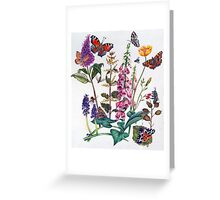 Butterflies and Buddleia Greeting Card