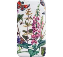 Butterflies and Buddleia iPhone Case/Skin