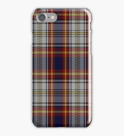 02189 Burnt Butterscotch, (Unidentified #11) Tartan iPhone Case/Skin