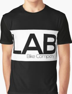 White Strip Tee - Lab Bike Company Graphic T-Shirt