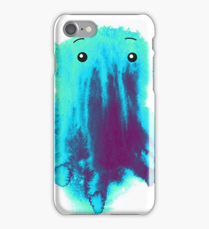 Dripping Paint Monster iPhone Case/Skin