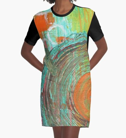 Big Band Graphic T-Shirt Dress