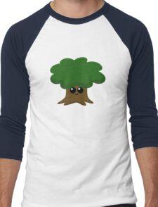 Happy Little Tree Men's Baseball ¾ T-Shirt