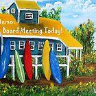 Memo: BOARD MEETING TODAY by WhiteDove Studio kj gordon