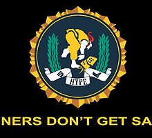 Winners Don't Get Salty - Sticker by NerdUnemployed