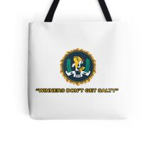Winners Don't Get Salty - Sticker Tote Bag