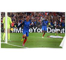 Antonie Griezmann Euro 2016 Final Poster