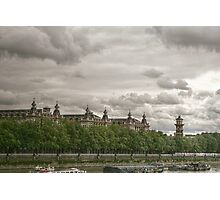 On the South Bank of the Thames Photographic Print