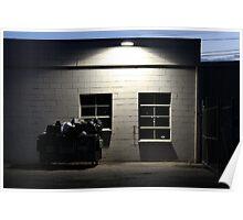 Night Urban Photography Poster