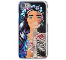 Pop Art Skeleton Galaxy  iPhone Case/Skin