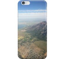 Salt Lake Mountains iPhone Case/Skin