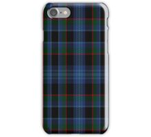 02180 Bayberry Blue, (Unidentified #2) Tartan  iPhone Case/Skin