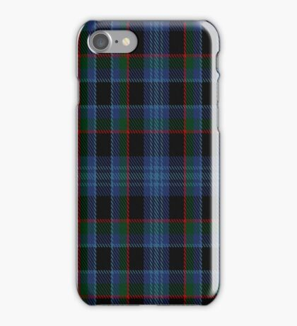 02180 Bayberry Blue, (Unidentified #2) Tartan  iPhone Case/Skin